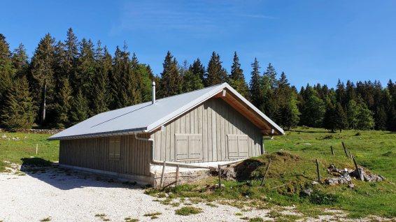 Vieux Chalet du Pont - L'Abbaye - Vaud - Suisse