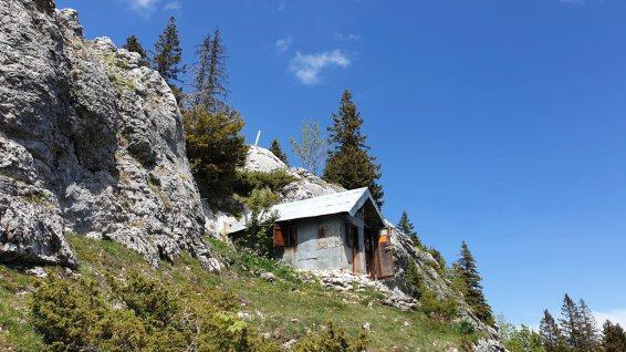 Cabane du Rocher - Berolle - Vaud - Suisse