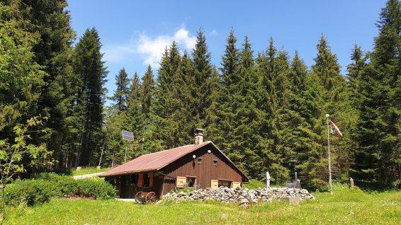 Couvert de la Coche - L'Abbaye - Vaud - Suisse