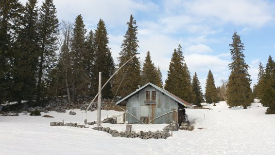 Cabane du Servan - L'Abbaye - Vaud - Suisse