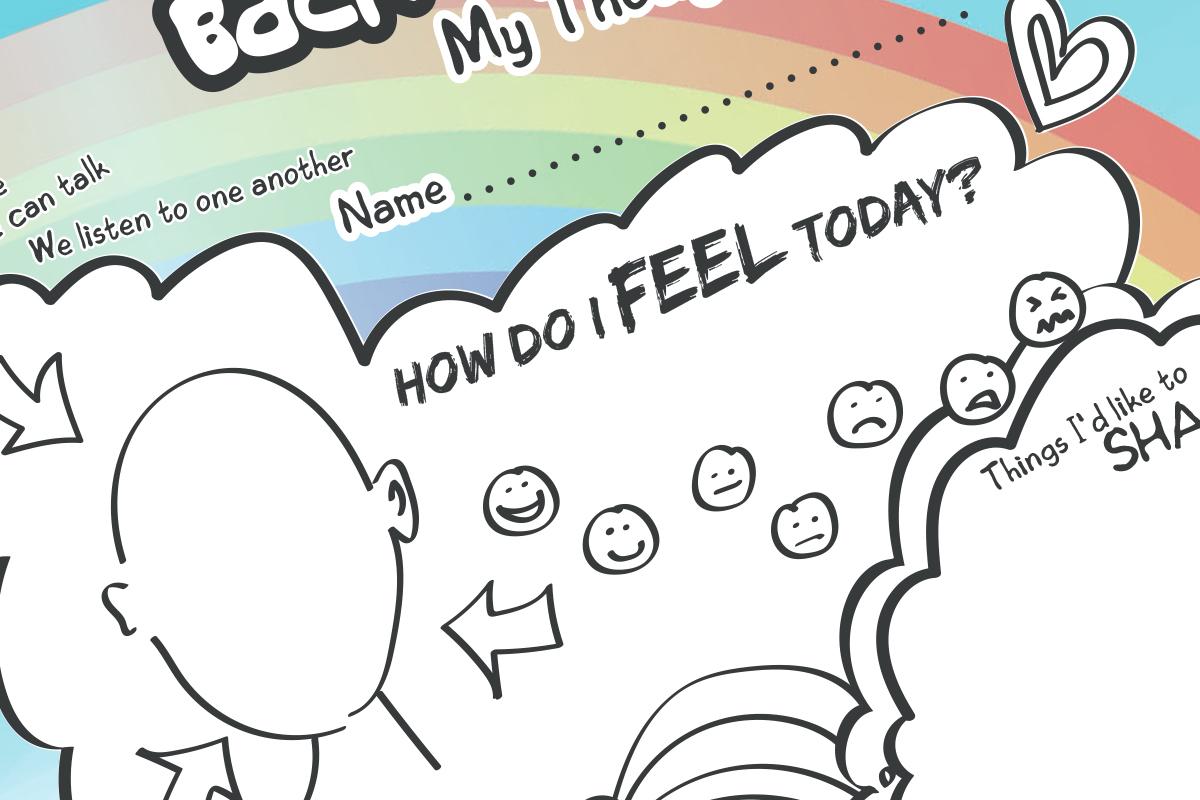 Back To School My Thoughts Amp Feelings Free Worksheet Ks2