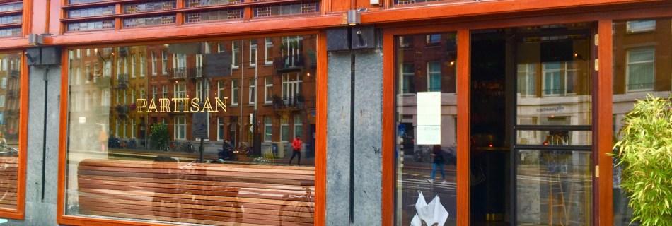 Partisan Amsterdam: New Wine Café and Restaurant in De Baarsjes
