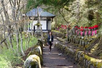 Kanmangafuchi's stone Jizo statues