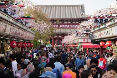 Senso-ji Temple in Tokyo