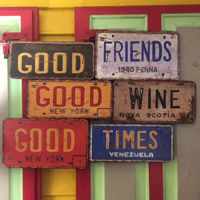 "good friends good wine good times - ""The Story behind Two Traveling Texans"""