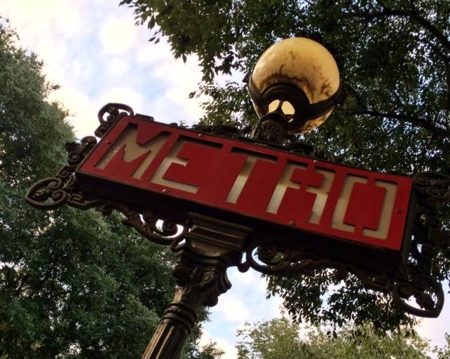 "I was really impressed by the Metro system! - ""12 Random Observations about Paris, France"" - Two Traveling Texans"