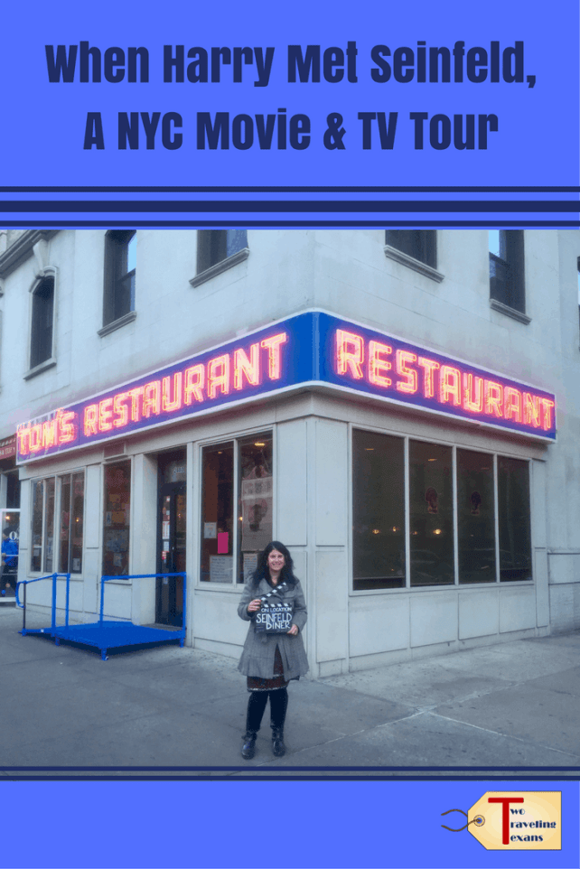 A travel blog about the When Harry Met Seinfeld tour run by On Location Tours which visits famous movie and tv locations in NYC.
