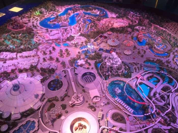 The Disneyland Diaroma