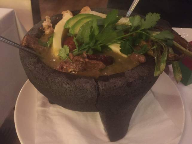 "The perfect sharing dish - Molcajete 'Mestizo' - ""Mexican Food Finds in London"" - Two Traveling Texans"