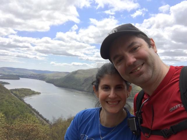 """Obligatory selfie! We were so lucky to have perfect weather. The sky was so beautiful. - """"Breakneck Ridge Lives Up To Its Name"""" - Two Traveling Texans"""