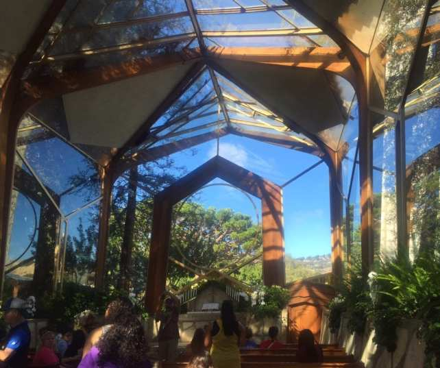 Inside the Glass Church