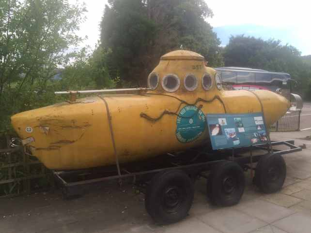 """Submarine used in the 1969 Investigation - """"Loch Ness: Searching for Nessie"""" - Two Traveling Texans"""