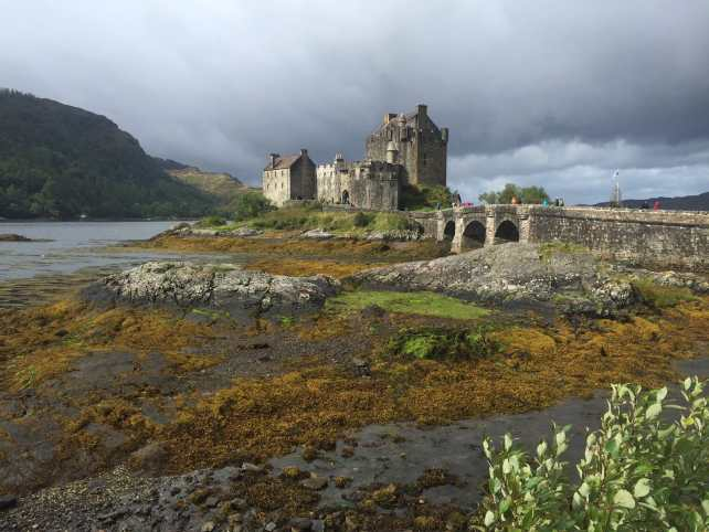 "You can see why Eileen Donan castle is the most photographed in Scotland. - ""The Journey Over Sea to Skye"" - Two Traveling Texans"