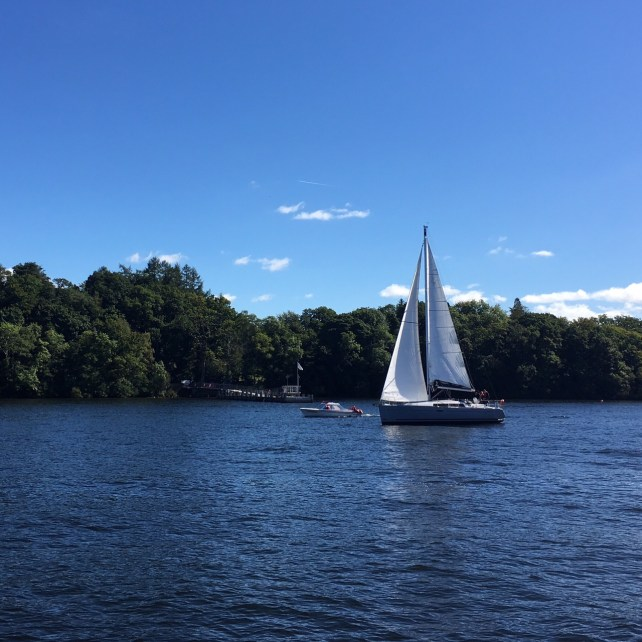 "What a gorgeous day to be out on Lake Windermere - ""An Introduction to England's Lake District"" - Two Traveling Texans"