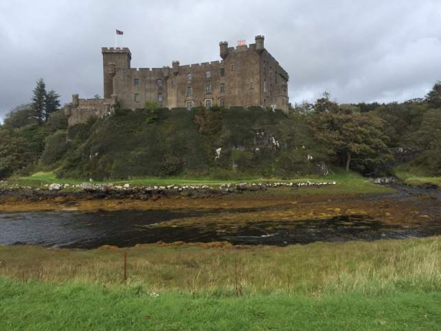"Another view of Dunvegan Castle. - ""Dunvegan Castle and the Fairy Flag"" - Two Traveling Texans"