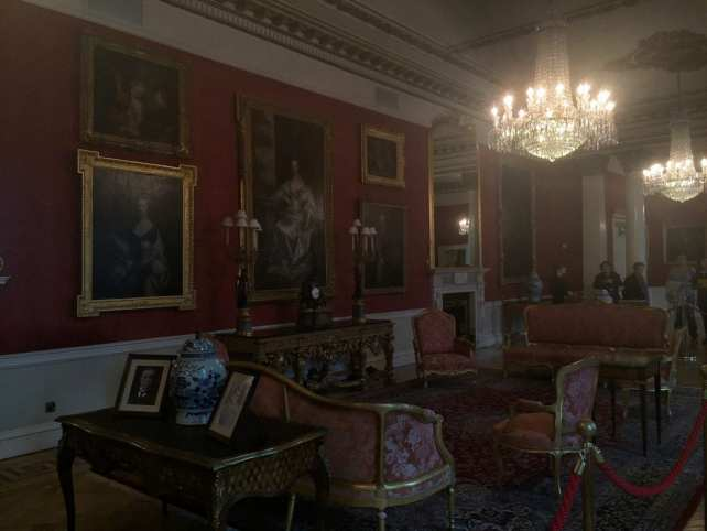 "One of the elaborate room in the state apartments. - ""What You Need to Know About Visiting Dublin Castle"" - Two Traveling Texans"