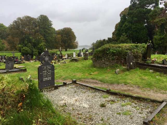 "If it wasn't raining, I would have liked to spend more time exploring the cemetery outside Muckross Abbey. - ""What to See When You Visit Killarney National Park"" - Two Traveling Texans"