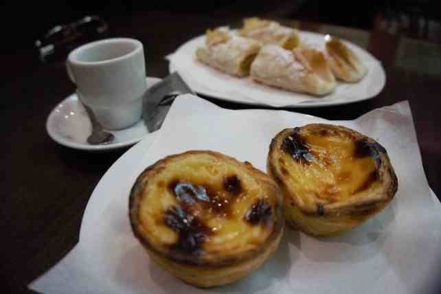 """Ending the tour with some dessert, coffee, and nice conversation! - """"Porto Food Tour: Taste the Local Specialties"""" - Two Traveling Texans"""