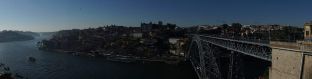 """View of Porto from in front of the upper cable car station. - """"Port House Visits and Cable Cars"""" - Two Traveling Texans"""