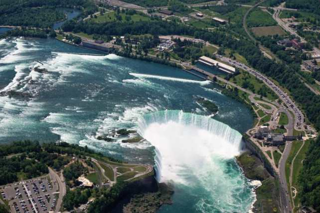 "We had an incredible view of the Horseshoe Falls. -""Niagara Falls Helicopter Ride to Remember"" - Two Traveling Texans"