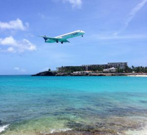 """You will see plane after plane and it doesn't get old. - """"Maho Bay: Plane Spotting in St. Maarten"""" - Two Traveling Texans"""