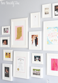 Home Office Gallery Wall {Decorating Ideas} - Two Twenty One