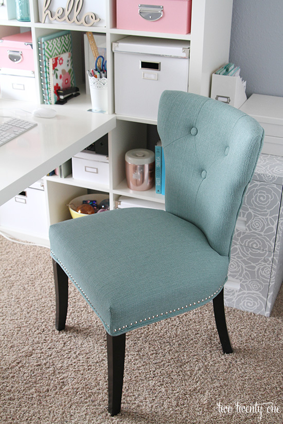 cynthia rowley nailhead accent chair office low back home update