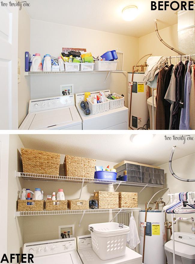 Diy Laundry Room Organization Ideas