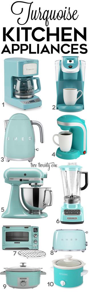 Turquoise Kitchen Decor Amp Appliances