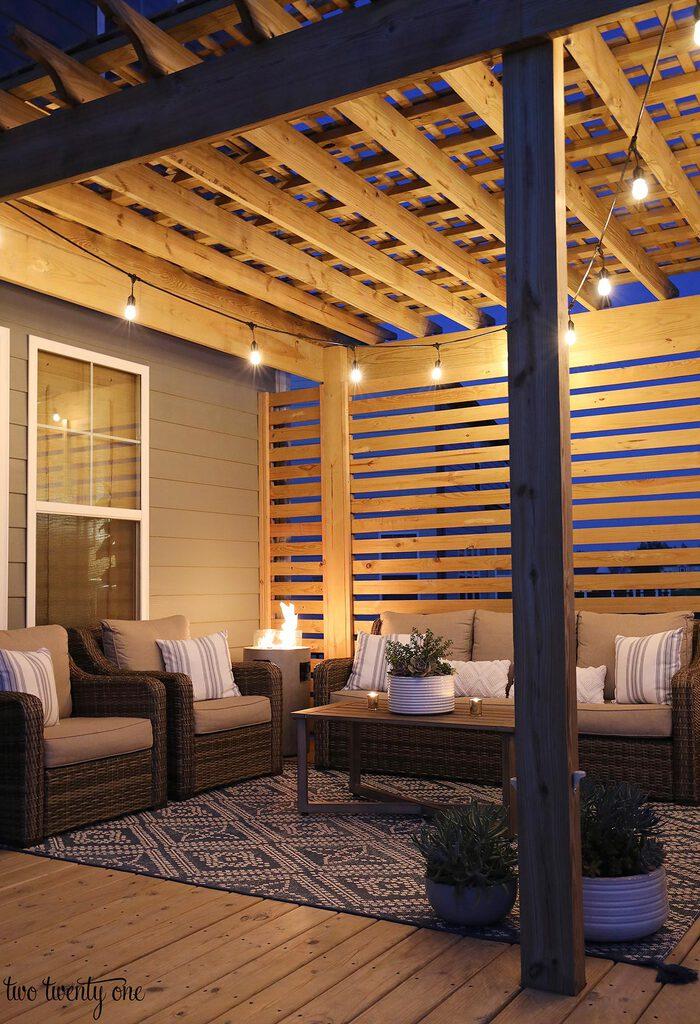 easy deck lighting ideas