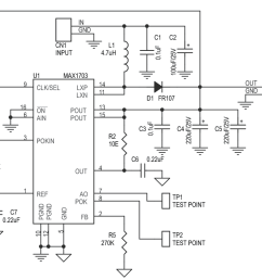 based step up step down dc to dc converter circuit diagram circuit to 12v dcdc stepup converter by lt1618 electronic circuits diagram [ 993 x 857 Pixel ]