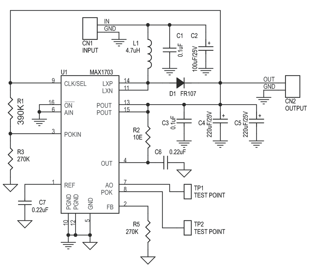 hight resolution of based step up step down dc to dc converter circuit diagram circuit to 12v dcdc stepup converter by lt1618 electronic circuits diagram