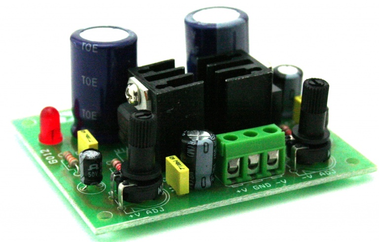12v 25v Variable Adjustable Dc Power Supply Using Lm338k