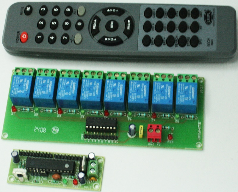 Infra Red Ir Receiver Circuit Using Ic 555 Tsop1738