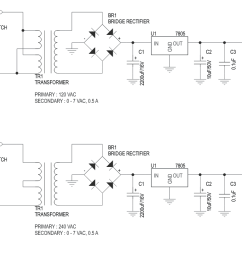 5v 500ma regulated liniar power supply with on board transformer 3  [ 1225 x 805 Pixel ]