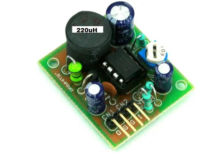 Dc To Dc Converter Circuits