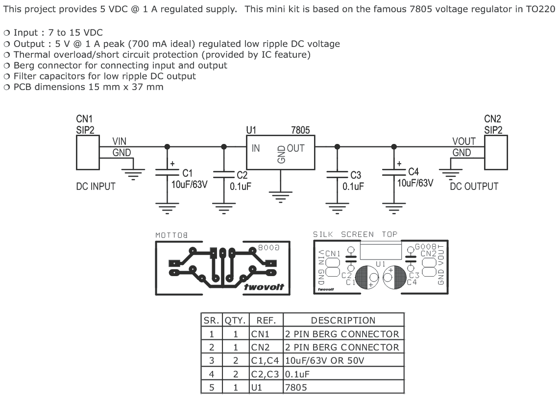 hight resolution of 7805 tiny module 7805 tiny module