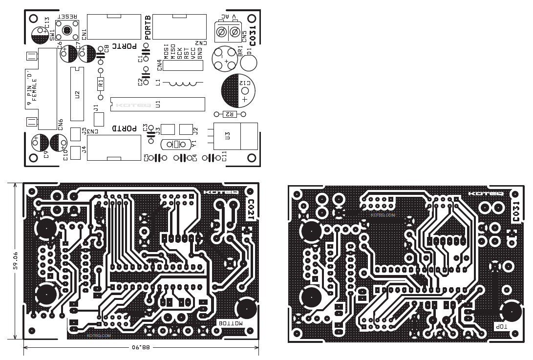 circuit board chips