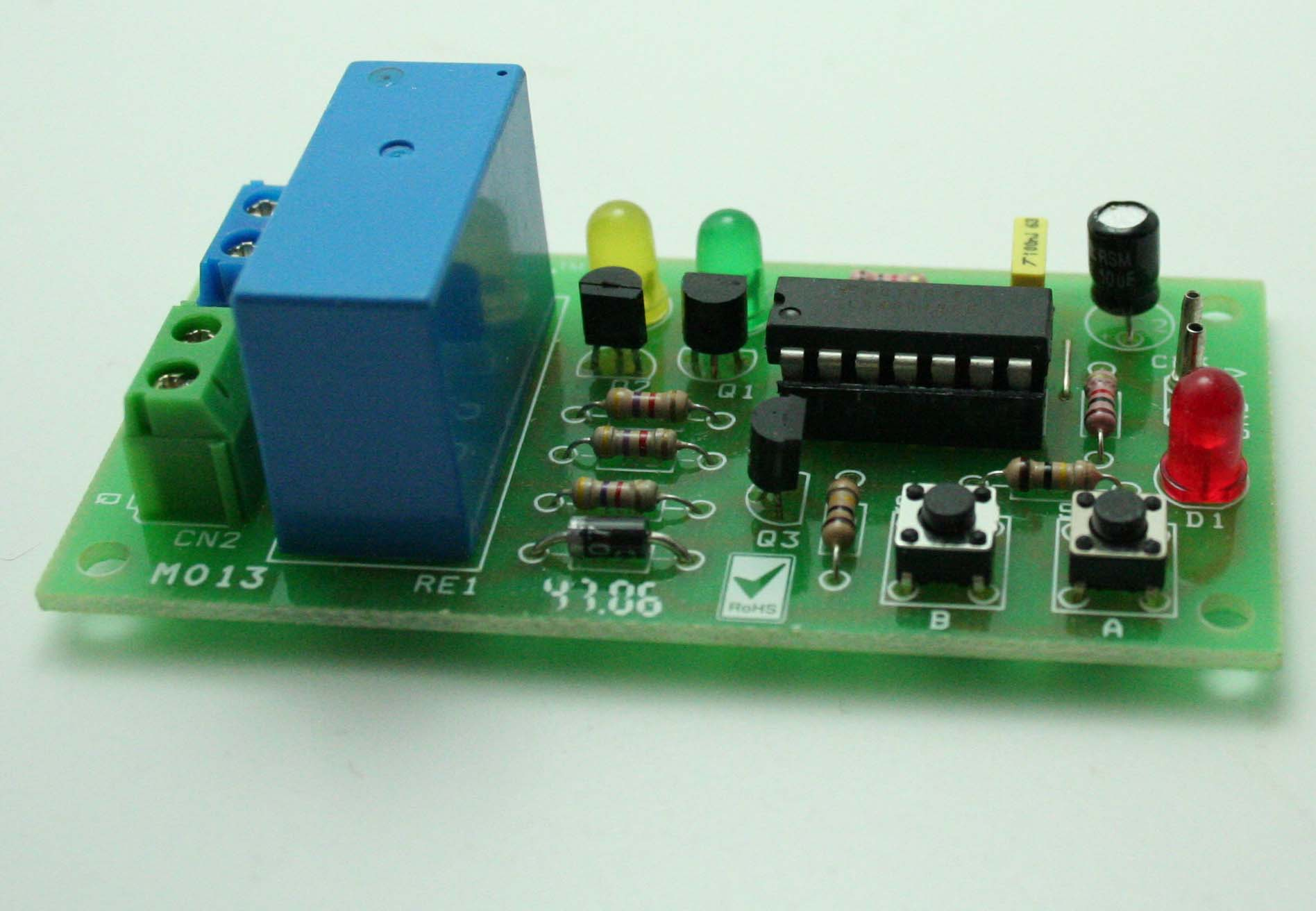 Motor Control Using Relay