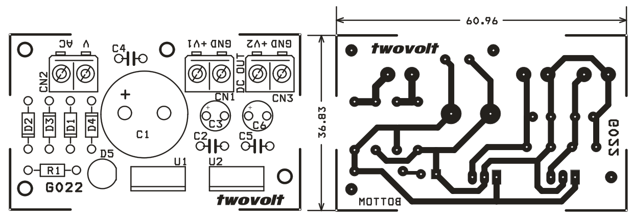 7805 Voltage Regulator Schematic Adjustable Voltage