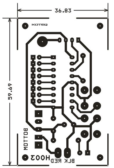 RF Remote Based Dc Motor Driver Using HT12E & HT12D