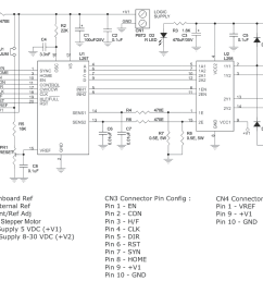 l298 l297 based high current bipolar stepper motor driver l298 circuit diagram also with bipolar stepper motor driver circuit [ 1255 x 815 Pixel ]