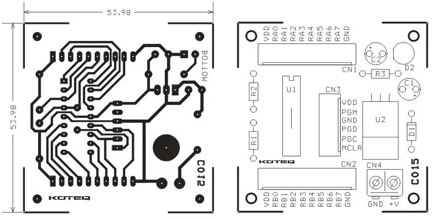Multipurpose 18 PIN (16F628A) Micro-controller development