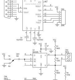 rs232 to rs485 converter board using max232 max485 circuit ideas rs232 rs485 converter circuit rs232 rs485 converter schematic [ 1074 x 1680 Pixel ]