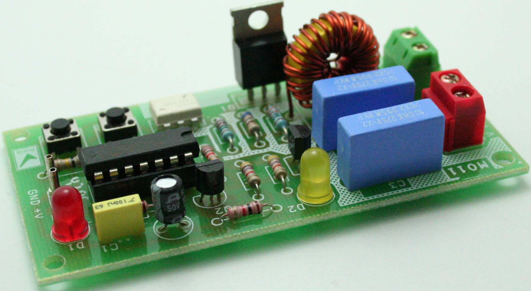 hight resolution of solid state ac relay with digital togle switch for inductive and resisitive loads 1