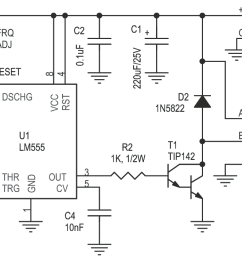 tesla coil eht driver circuit using lm555 timer 4  [ 1138 x 708 Pixel ]