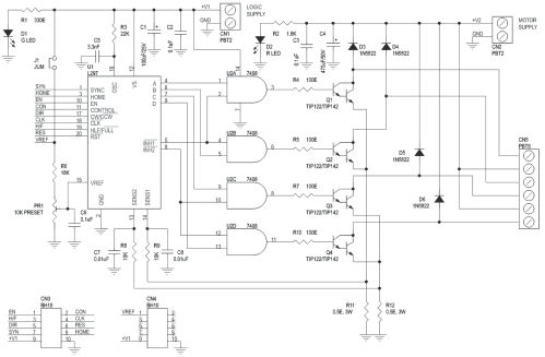 small resolution of unipolar cnc wiring diagram