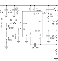 variable power supply 2 6v to 24v dc 1amp using lm723 3 circuit lm723 variable power supply electronic project circuit diagram [ 1413 x 681 Pixel ]