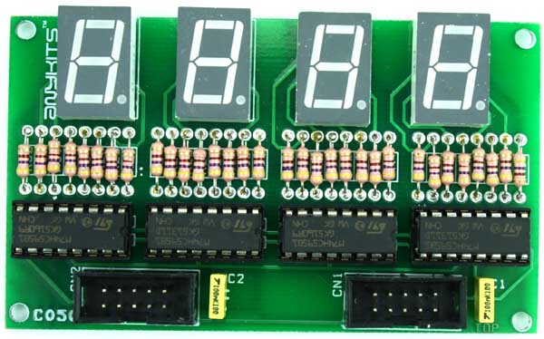 Circuit Collection Digital Stopwatch With 7segment Schematic