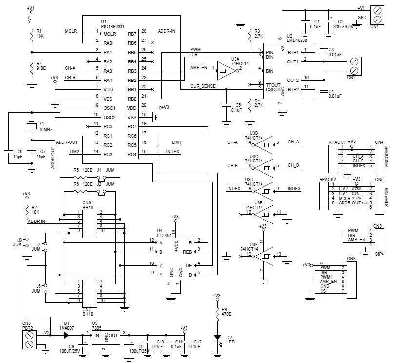 Brushed Dc Servo Motor Driver Circuit Ideas I Projects I